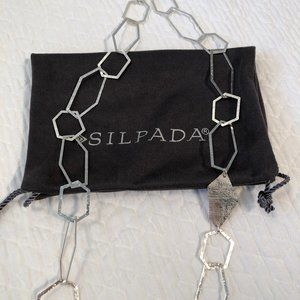 Silpada Geometric Links Necklace